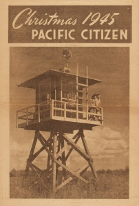 Pacific Citizen Christmas 1945 Issue. Courtesy of Densho and Cherry Kinoshita