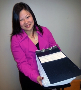Morita, turning in 24,000 signatures to qualify for the ballot.